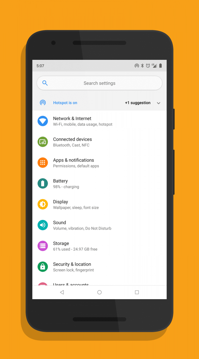 Android P-ify Xposed Module