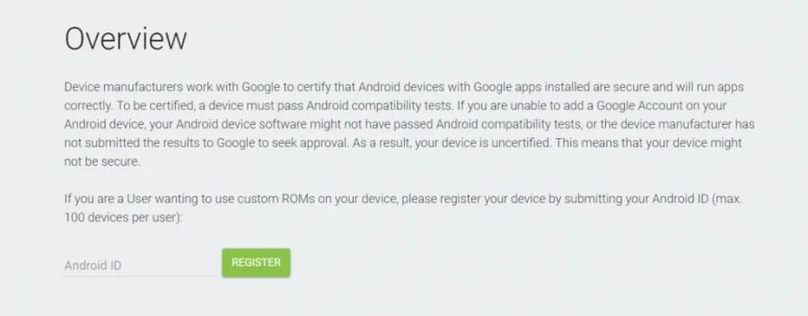 Google Play Custom ROM