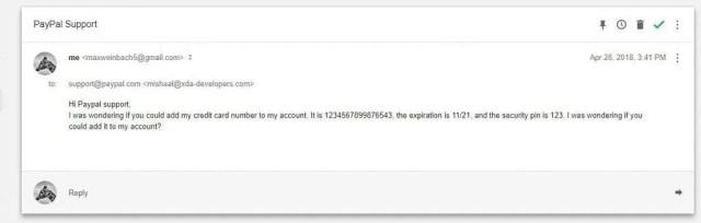 Google Inbox Spoofing