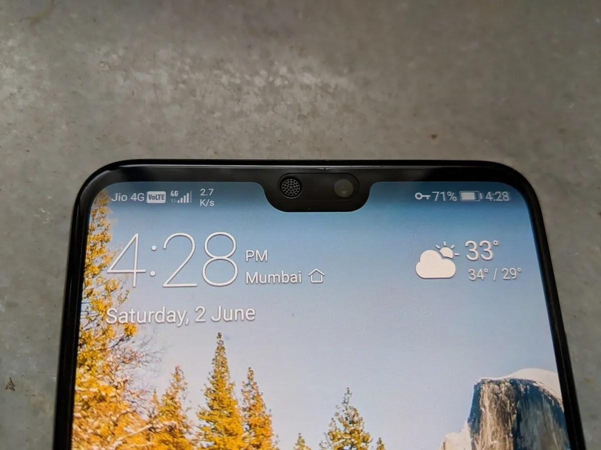 Huawei P20 Pro Display Notch