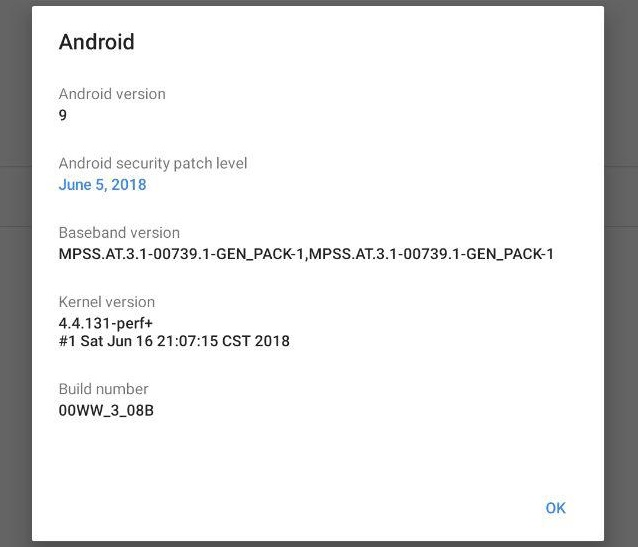 Nokia 7 Plus Android P Beta 2