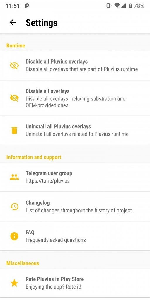 Dynamically theme Android with Pluvius