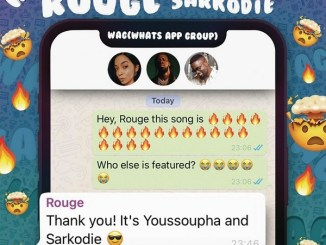 Rouge - WAG ft. Sarkodie & Youssoupha Mp3 Download