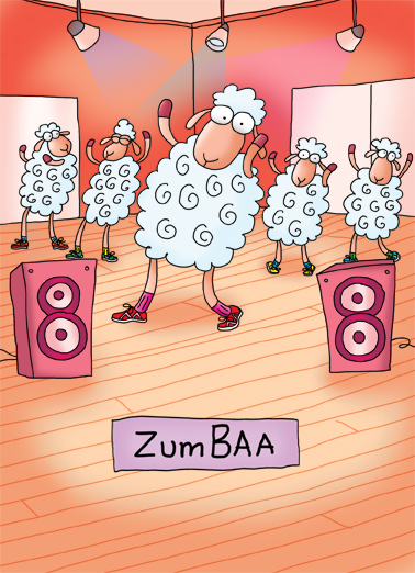 Funny Birthday Ecard Zumbaa From