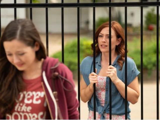 "A scene from the PureFlix movie ""Unplanned."" (Image credit: Unplannedmovie.com)"