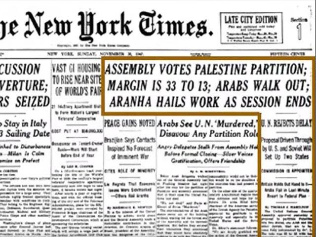 The New York Times, Nov. 30, 1947, Screen Capture