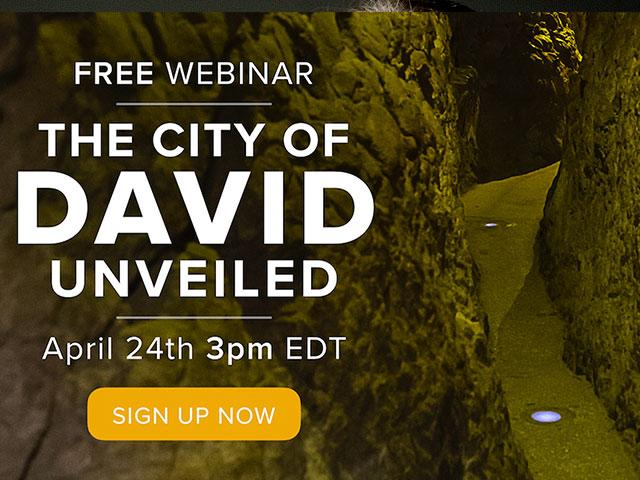 Webinar: The City of David Unveiled