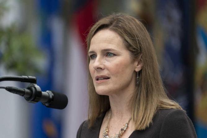 Media Targets Amy Coney Barrett for Ties to Christian School That Holds to Biblical Definition of Marriage | CBN News