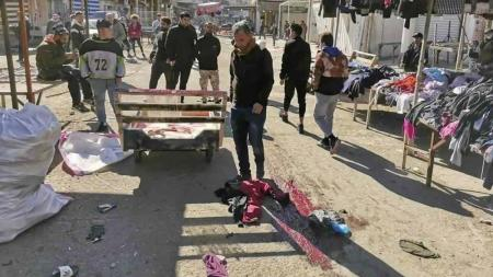 ISIS Claims Responsibility for Twin Suicide Bombings on Baghdad, Killing 30+