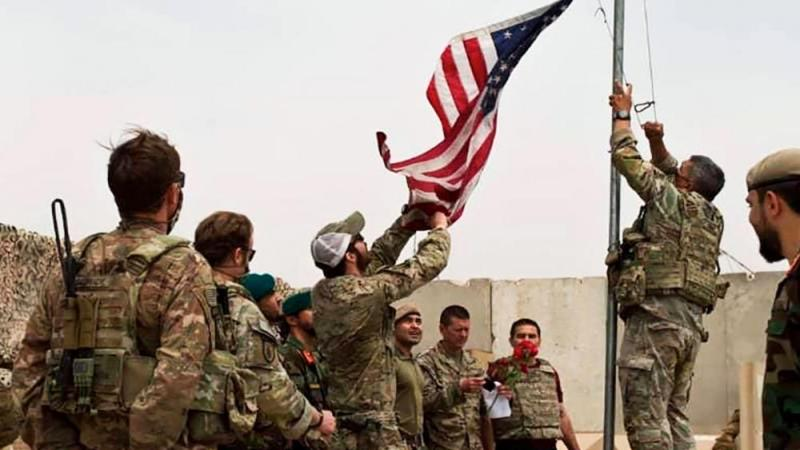 US troops pulling out of Afghanistan. Photo: AP File May 2, 2021