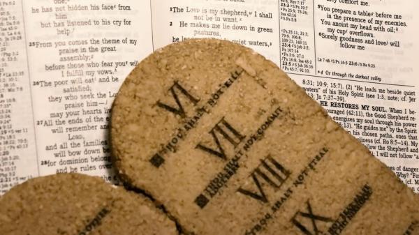 10 commandments bible # 45