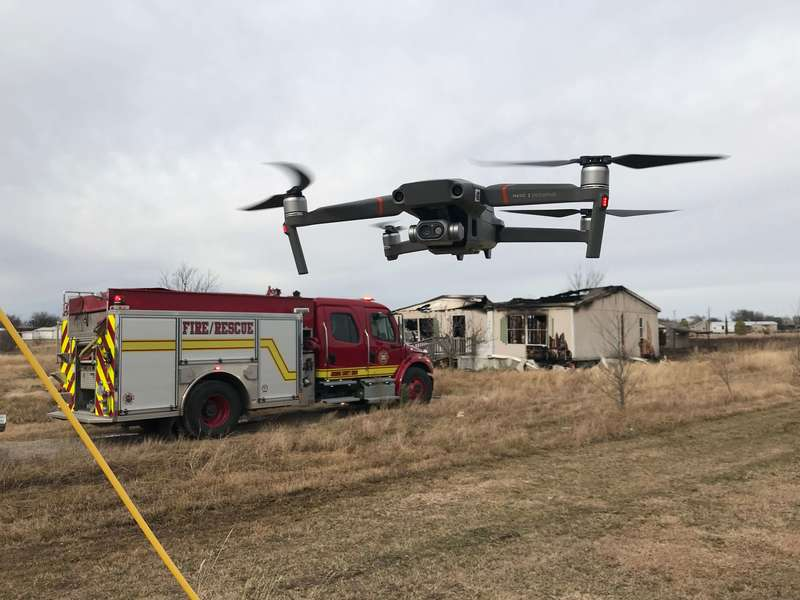 Joshua Fire Department (TX) Deploys the Mavic 2 Enterprise Dual for