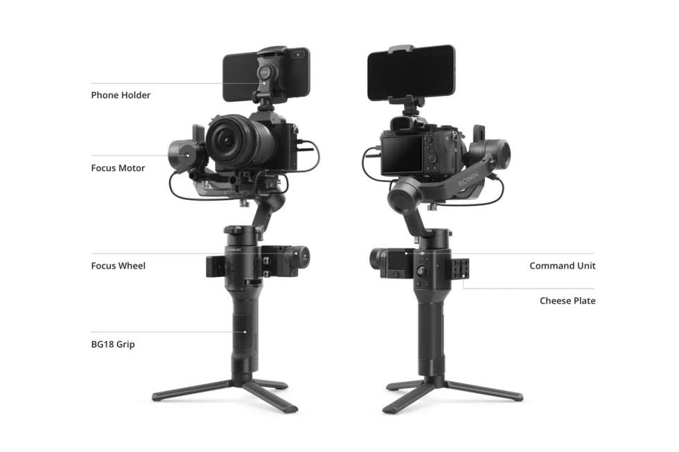 DJI Ronin SC Handheld Camera Gimbal | 360 Degree Movement