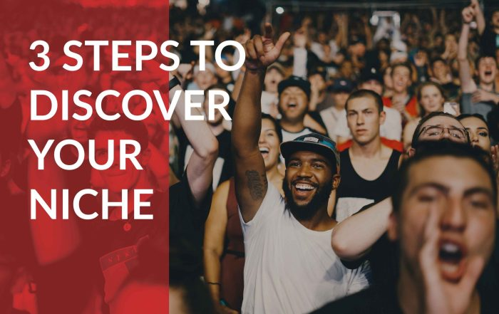 3 important steps to discovering your niche