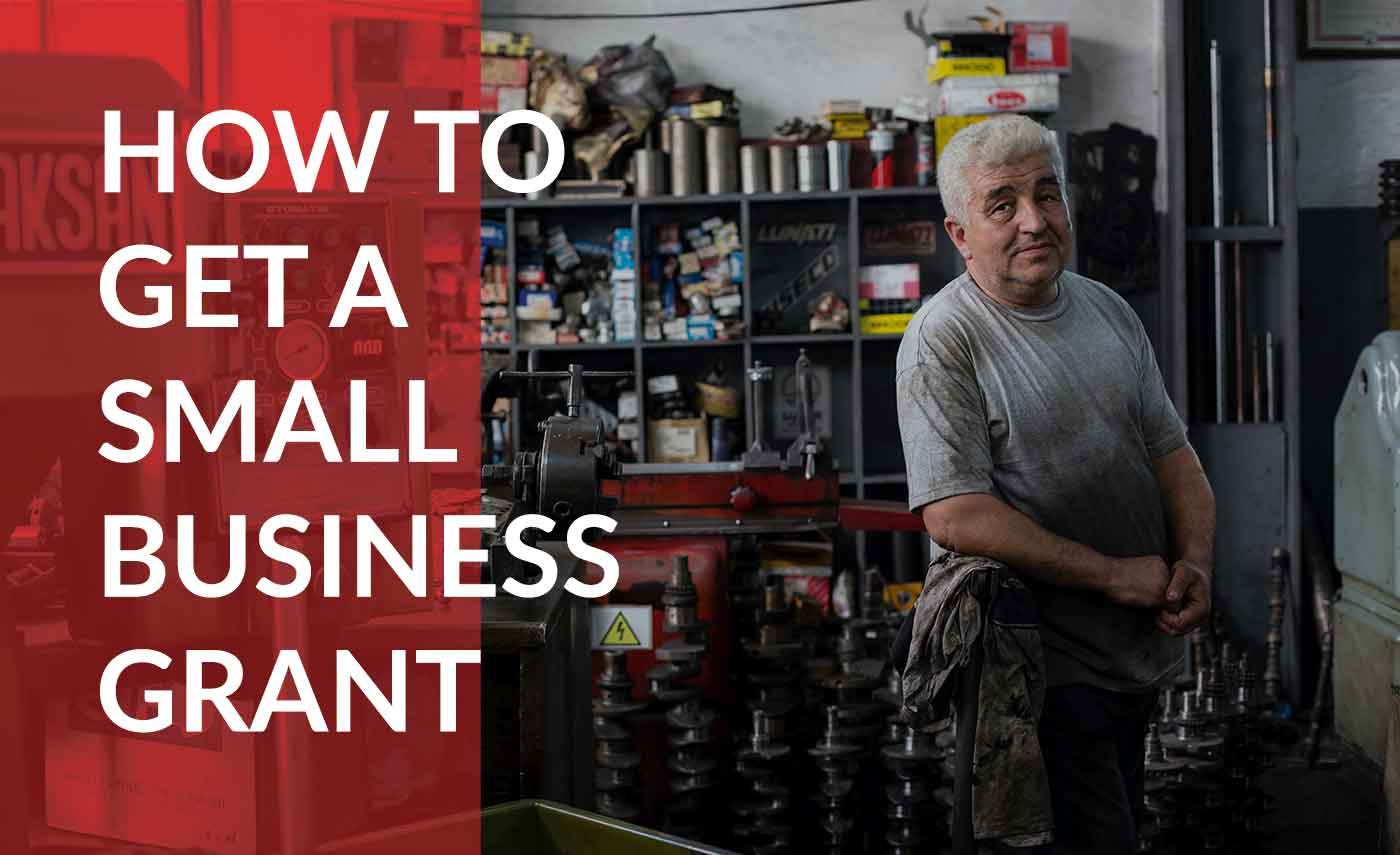 How to get a small business grant