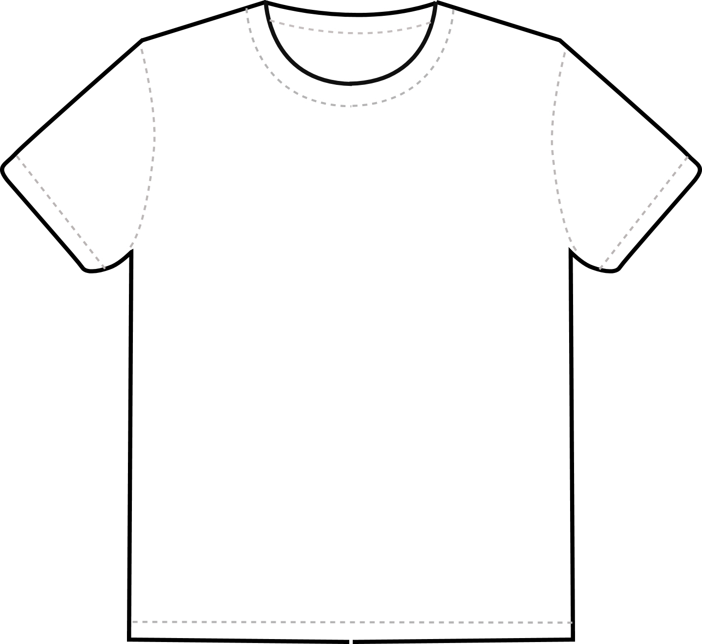 Tees Template. a collection of free t shirt templates blueblots ...