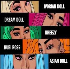 Photo of Asian Doll – Nunnadet Shit Ft. Rubi Rose, DreamDoll, Dreezy, Ivorian Doll (Remix)