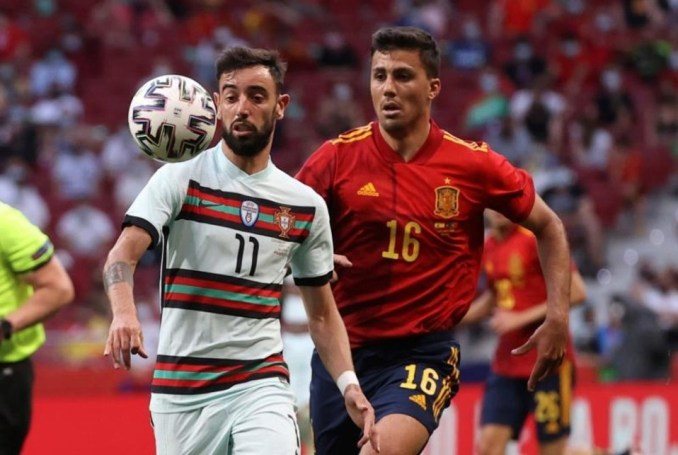 Friendly Match Between Spain And Portugal On Friday Was Watched By 1,798.000 Spectators