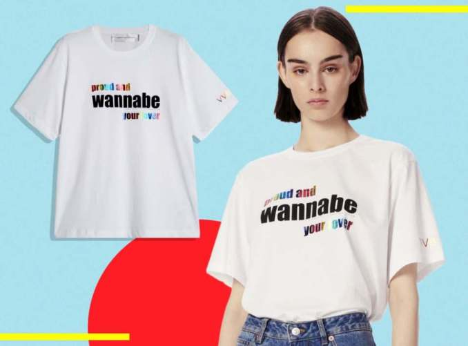 Victoria Beckham Has Created A Pride Tee With The Spice Girls
