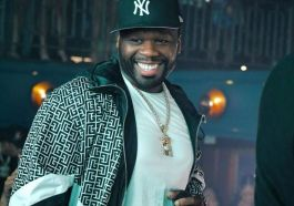 """50 Cent Attended The Premiere Dressed In Style In A Black Tux With Girlified Jamira """"Cuban Link"""" Haines As His Gorgeous Date"""