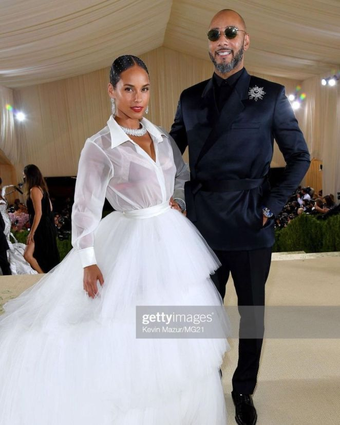 Alicia Keys And Her Husband Swizz Beatz Are Hitting The Red Carpet