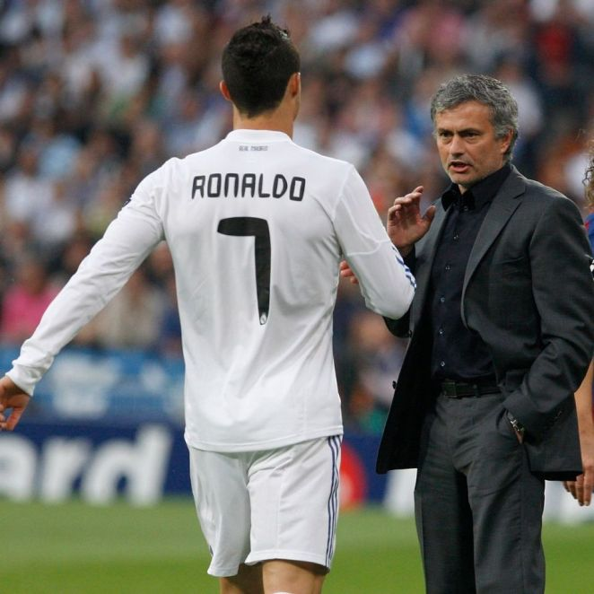 Cristiano Ronaldo And Jose Mourinho Are Seen As Being Amongst The Greatest Players And Managers Of All Time