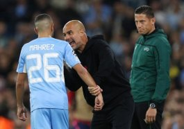 Guardiola explains why he screamed at Mahrez during Leipzig win