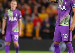 Harry Kane Made It 0-2 In The 23rd Minutes Against Wolves On Wednesday