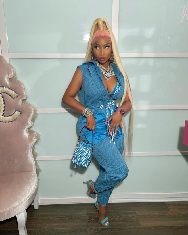 Nicki Minaj Was Attacked By The Corporate Press And Leftists Online