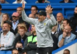 Thomas Tuchel Was A Frustrated Figure Throughout Chelsea's Defeat To Manchester City