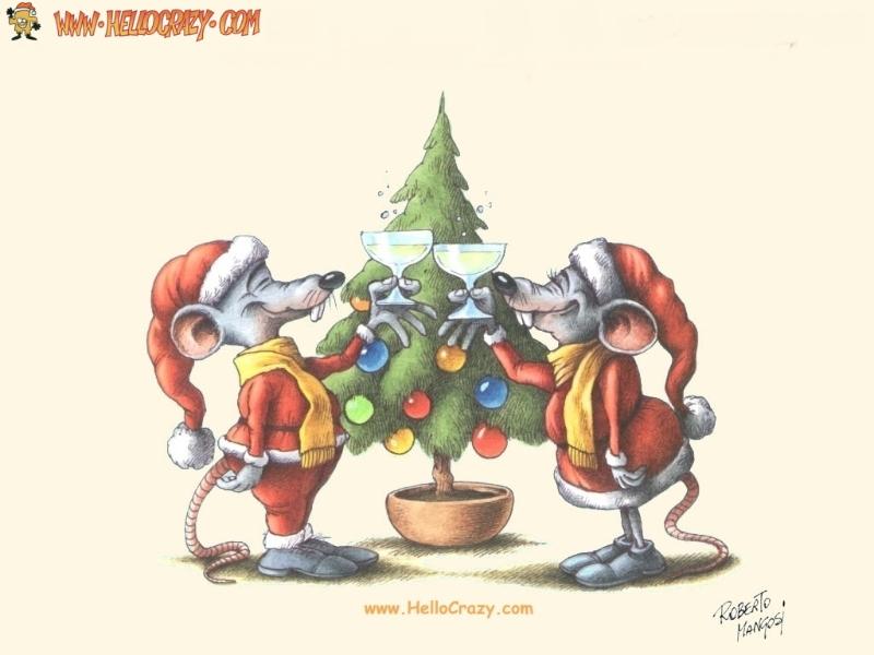 WwwOhMyGoodnesscom Mice Merry Christmas 800x600
