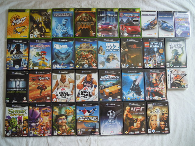 RetroCollect Forum View Topic What Retro Games Have