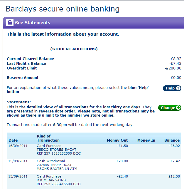 Banking Online Personal Barclays