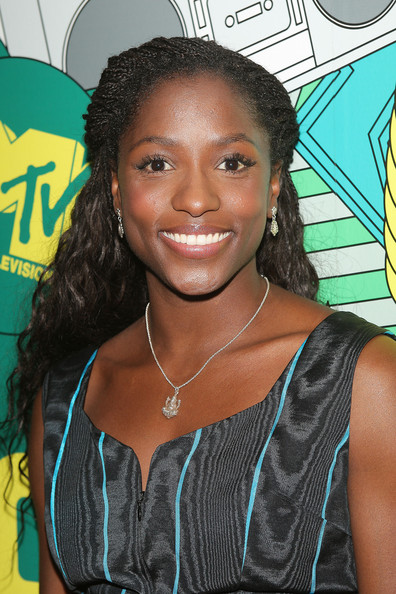 Rutina Wesley (U.S. TABS OUT) Actress Rutina Wesley poses for a photo backstage during MTV's Total Request Live at the MTV Times Square Studios January 22, 2008 in New York City.