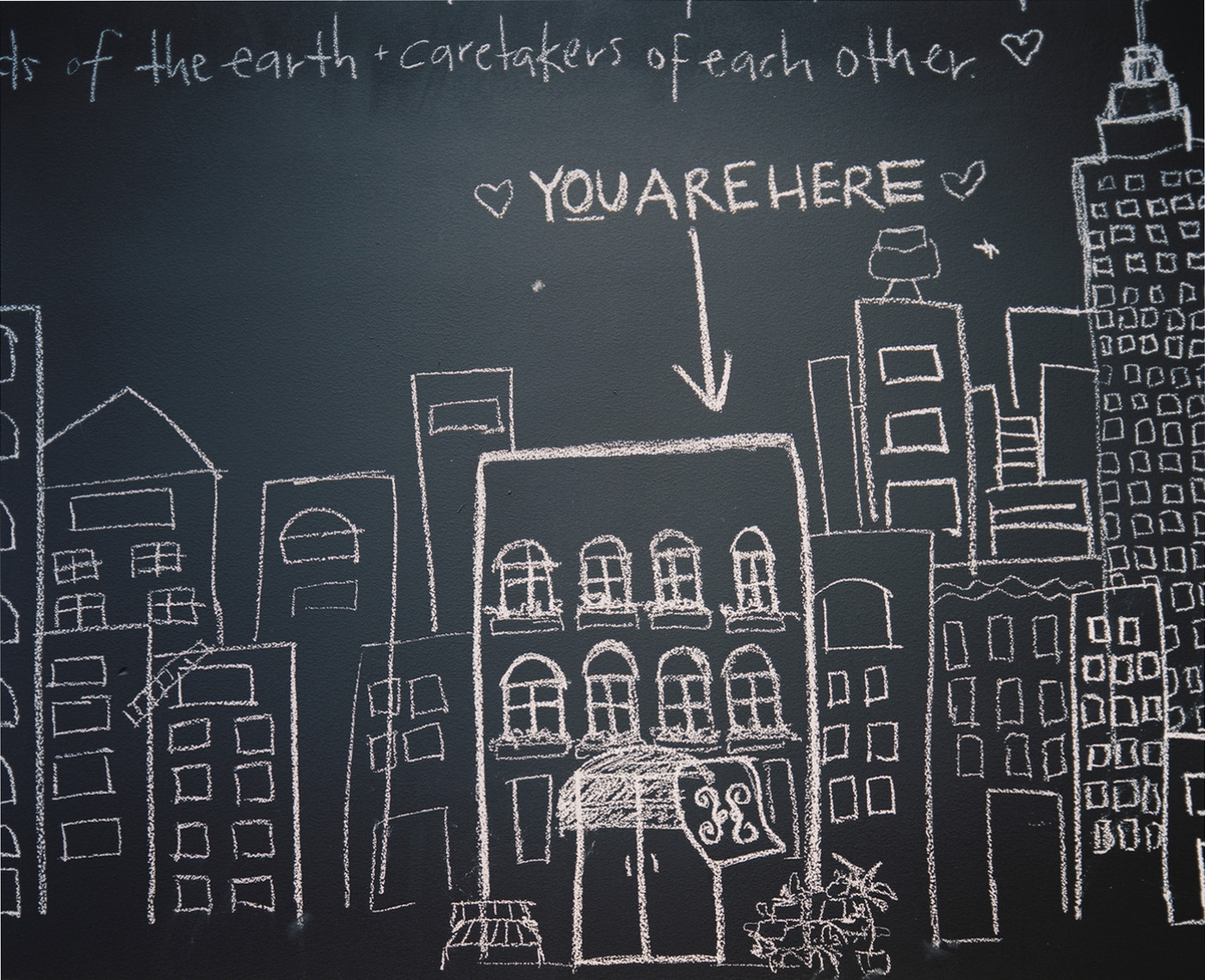Chalk Wall Drawing Ideas