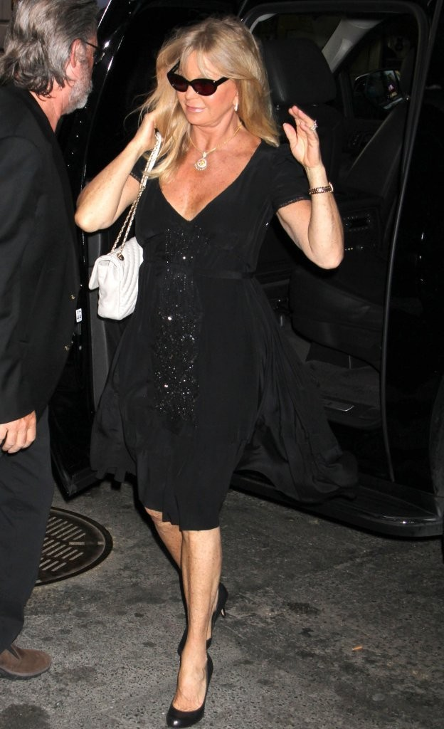 Goldie Hawn Little Black Dress Little Black Dress
