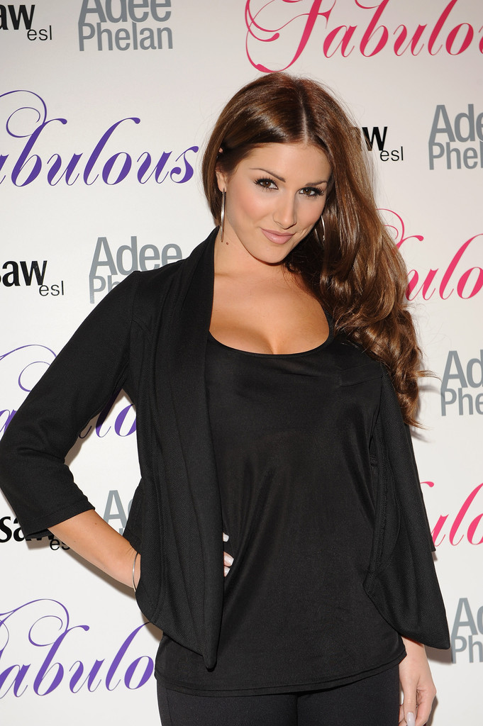 Lucy Pinder Sterling Hoops Lucy Pinder Looks StyleBistro