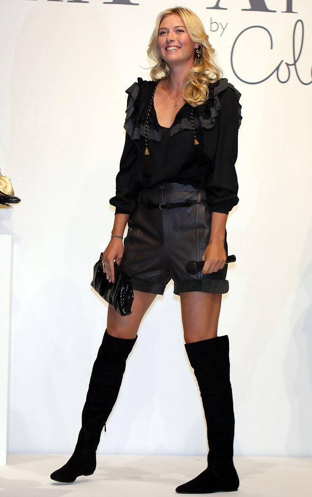 More Pics Of Maria Sharapova Over The Knee Boots 23 Of 24