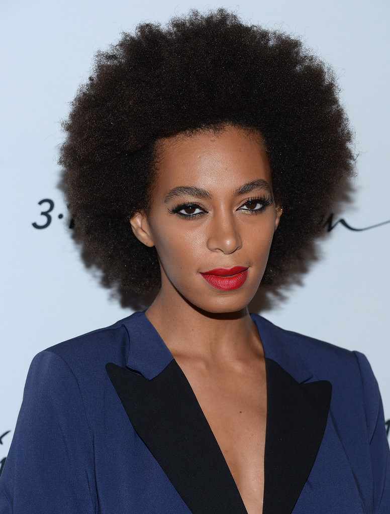 Solange Knowles Afro Solange Knowles Looks StyleBistro