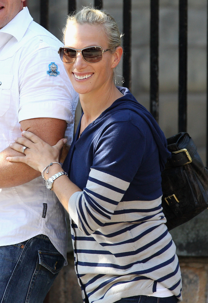 Zara Phillips Butterfly Sunglasses Zara Phillips Looks