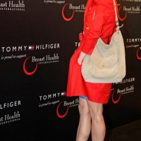 Fashion for a Cause - Lady in Tomato Red - Renee Zellweger in Tommy Hilfiger Spring 2011