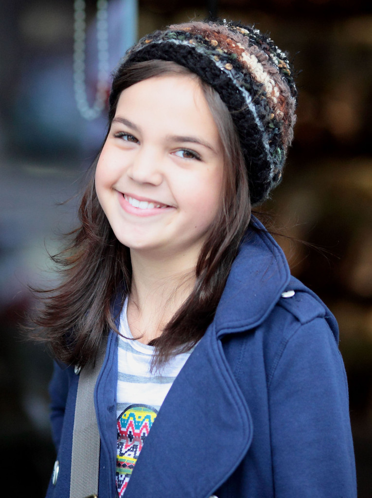 Bailee Madison In Leven Rambin And Bailee Madison Being