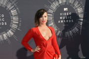 Singer Demi Lovato attends the 2014 MTV Video Music Awards at The Forum on August 24, 2014 in Inglewood, California.