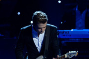 Recording artist Hunter Hayes performs onstage during the The 57th Annual GRAMMY Awards Premiere Ceremony at Nokia Theatre L.A. Live on February 8, 2015 in Los Angeles, California.