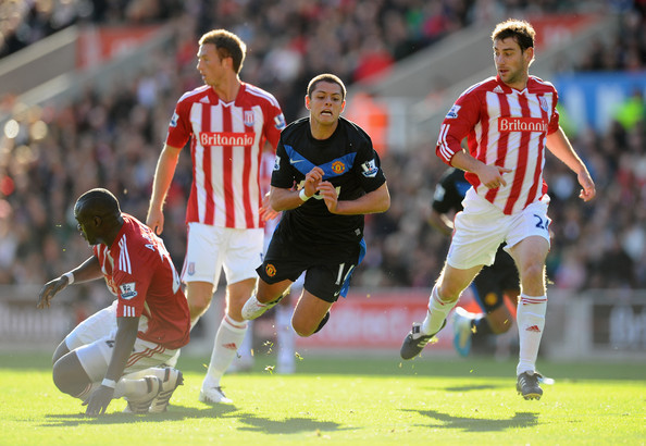 Javier Hernandez Last Season Against Stoke
