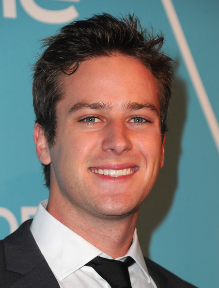 Armie Hammer - The Hollywood Foreign Press Association & InStyle Introduce Miss Golden Globe