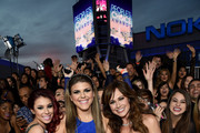 Actresses Jillian Rose Reed, Molly Tarlov and  Nikki Deloach attend The 41st Annual People's Choice Awards at Nokia Theatre LA Live on January 7, 2015 in Los Angeles, California.