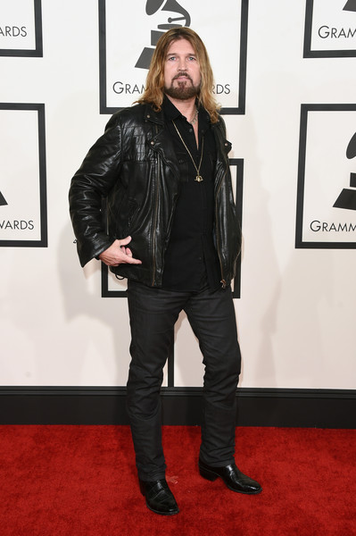 Billy Ray Cyrus - 57th GRAMMY Awards - Arrivals
