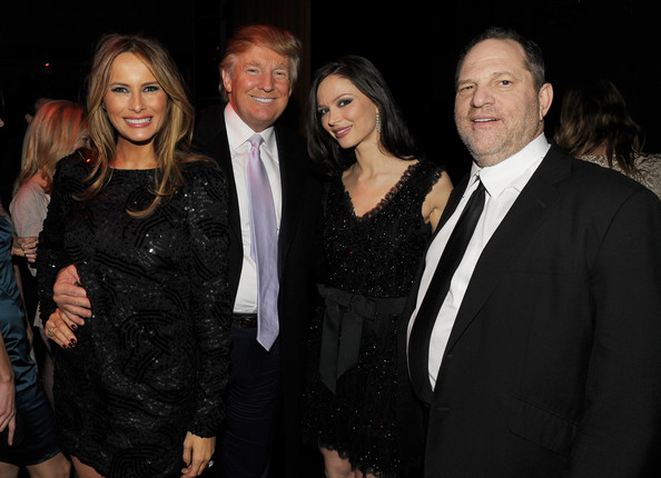 Image result for harvey weinstein donald trump