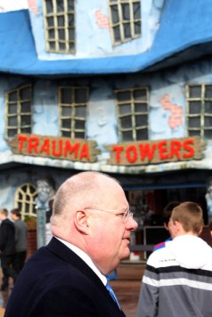 Eric Pickles at Trauma Towers